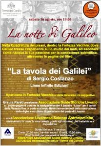 La tavola dei Galilei