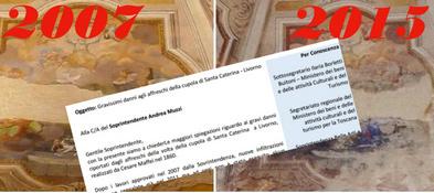 S. Caterina: Lettera di richiesta spiegazioni Soprintendente