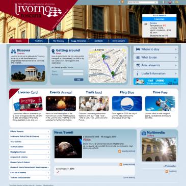 TURISMO A LIVORNO, un sito (ahi noi) a metà. La parte in lingua inglese è scritta in italiano