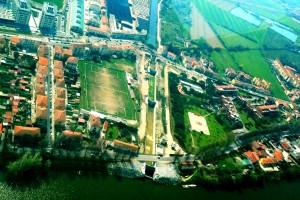 Paratie navicelli sull'Arno